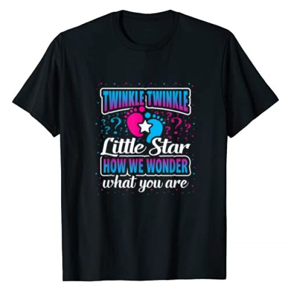 Baby Designs By Ark Graphic Tshirt 1 Twinkle Twinkle Little Star Gender Reveal Baby Gift Party T-Shirt