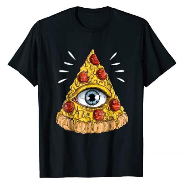 Shane Dawson Graphic Tshirt 1 All-Seeing Eye Pizza T-shirt