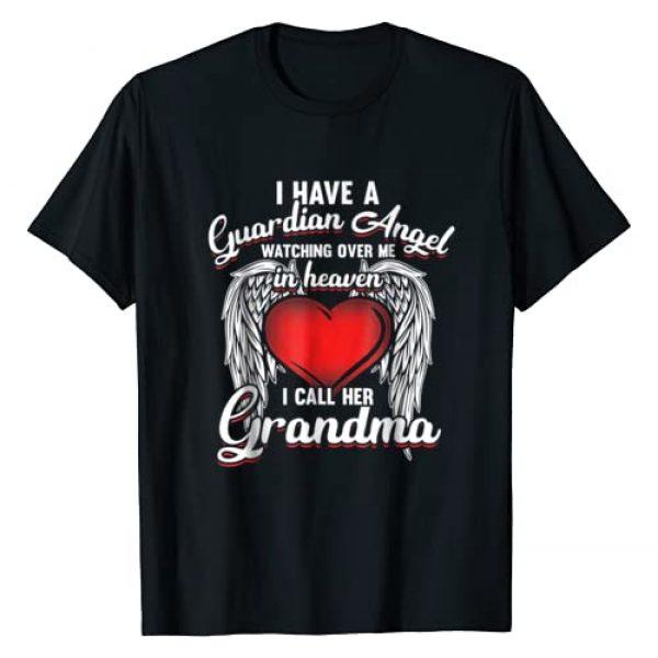 Guardian AngelT Shirt Matching Family Set Graphic Tshirt 1 I Have Guardian Angel In Heaven I Call Grandma T-shirt