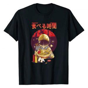 Ramen Shirts by MV&SG Graphic Tshirt 1 Ramen Astronaut Vintage Kawaii Otaku Japanese Noodles Gift T-Shirt