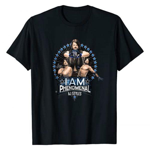WWE Graphic Tshirt 1 I Am Phenomenal AJ Styles Photo Collage T-shirt