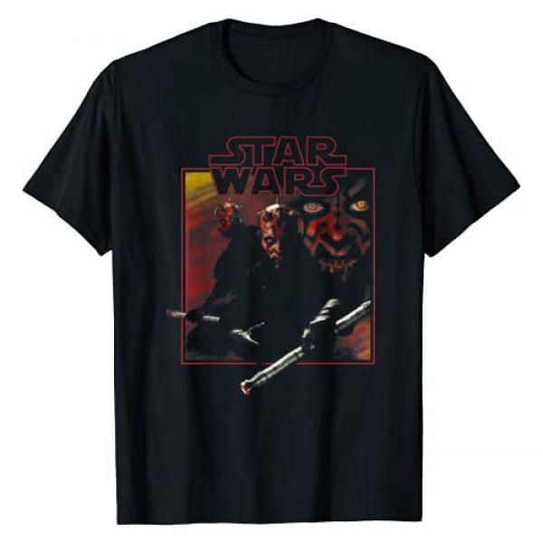 Star Wars Graphic Tshirt 1 Darth Maul Classic Movie Square Portrait T-Shirt
