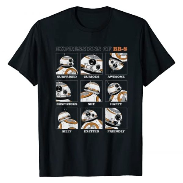 Star Wars Graphic Tshirt 1 Expressions of BB-8 T-Shirt