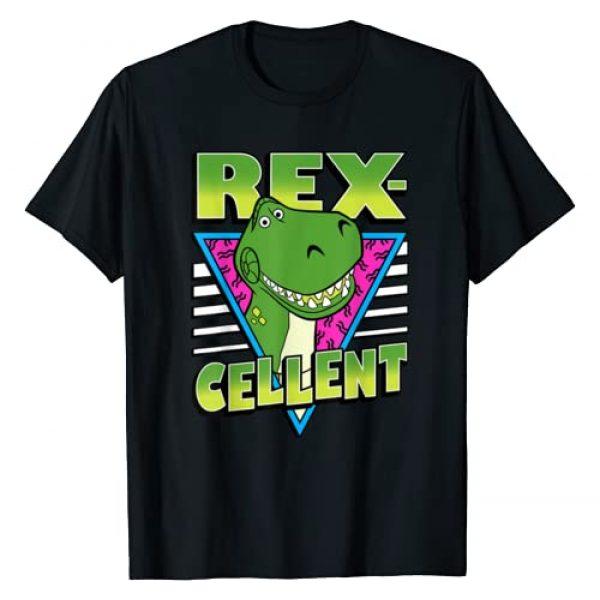 Disney Graphic Tshirt 1 Pixar Toy Story 4 Retro Rex-cellent Portrait T-Shirt