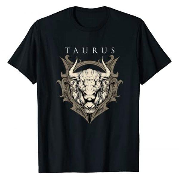 Zodiac T-Shirts - animal symbol Star Gifts Graphic Tshirt 1 Taurus Zodiac Sign T-shirt Birthday April to May