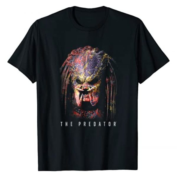 20th Century Fox Movies Graphic Tshirt 1 Predator Battle Paint T-Shirt