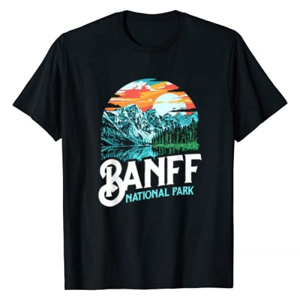 GONE Outfitters - Find Your Escape Graphic Tshirt 1 Banff National Park Lake Louise Canada Vintage Graphic T-Shirt