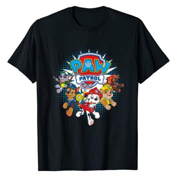 Nickelodeon Graphic Tshirt 1 Paw Patrol Team Nickelodeon T-Shirt