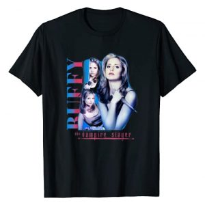 Buffy the Vampire Slayer Graphic Tshirt 1 Buffy Collage T-Shirt