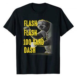 Disney Graphic Tshirt 1 Zootopia Flash Flash 100 Yard Dash Portrait T-Shirt