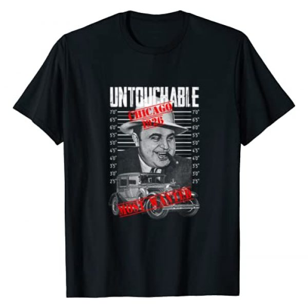 Chi Town Novelty Apparel Graphic Tshirt 1 Cool Chicago 1926 Al Capone Untouchable Gangster Tee T-Shirt