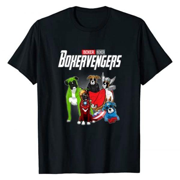 Funny Dog Boxer Shirt Gift Graphic Tshirt 1 Boxervengers T-shirt Funny Dog Boxer Shirt Gift T-Shirt