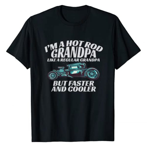 Scout & Co. Graphic Tshirt 1 I'm a Hot Rod Grandpa Gift Tee for Cool Gpa's with Hot Rods T-Shirt