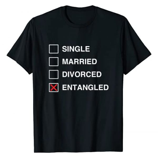 Single Married Divorced Entangled Apparel Co Graphic Tshirt 1 Single Married Divorced Entangled Funny Black Culture T-Shirt