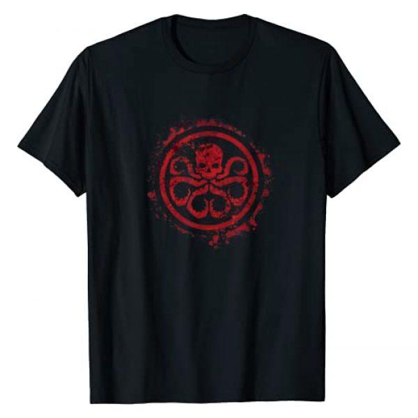 Marvel Graphic Tshirt 1 Hail Hydra Logo Graphic T-Shirt