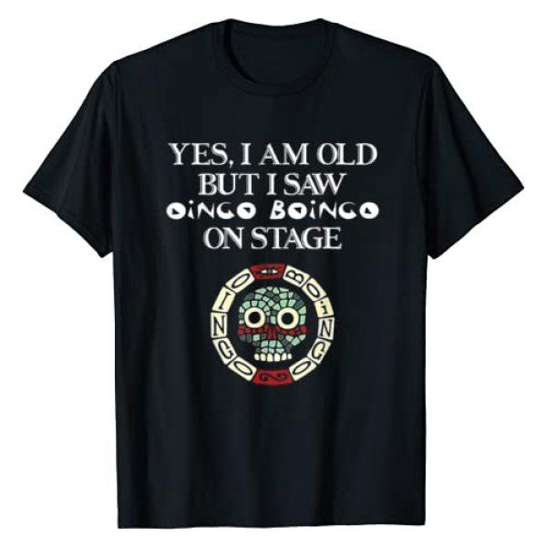 Yes I Am Old But I Saw Oingo Boingo Tee Shirt Graphic Tshirt 1 Yes I Am Old But I Saw Oingo Boingo On Stage T-Shirt
