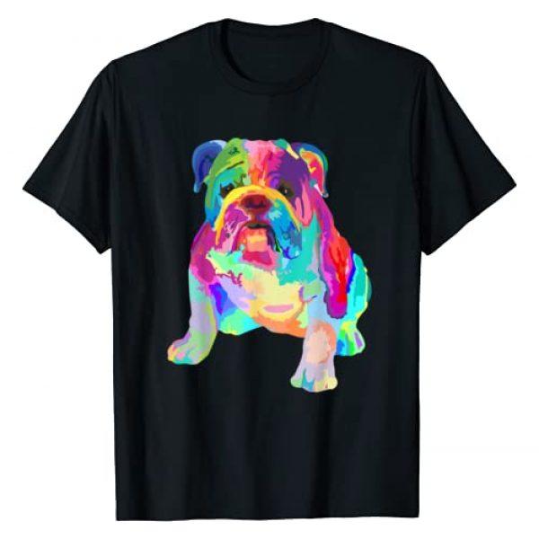 Sarcastic Dog Shirts Co18 Graphic Tshirt 1 Dog Lover Gifts Womens Colorful Cool English Bulldog Mens T-Shirt