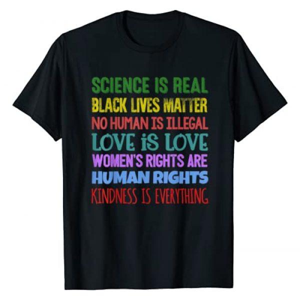 Human Rights Black Lives Matter Political Fun Tees Graphic Tshirt 1 Activist Equality Social Justice Quote Slogan Gift T-shirt T-Shirt