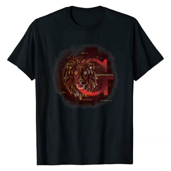 Harry Potter Graphic Tshirt 1 Celestial Nomad Gryffindor T-Shirt