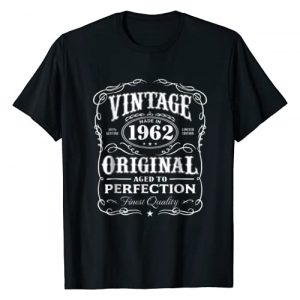 AGED TO PERFECTION Graphic Tshirt 1 Vintage Made In 1962 T-Shirt 56th Birthday Gift