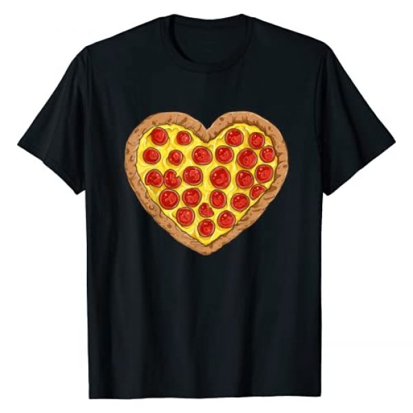 Puntastic Valentines Day Graphic Tshirt 1 Pizza Heart Valentines Day Gifts Men Women Pepperoni Lover T-Shirt