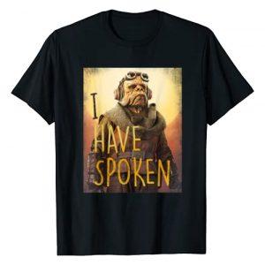 Star Wars Graphic Tshirt 1 The Mandalorian Kuiil I Have Spoken T-Shirt