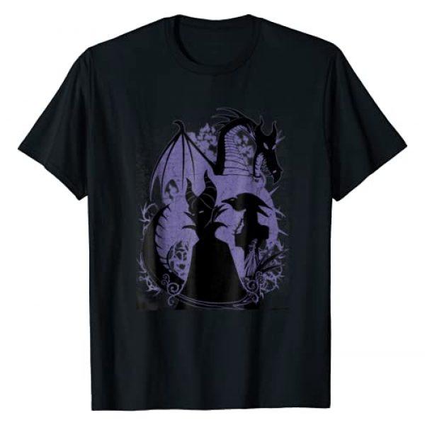 Disney Graphic Tshirt 1 Sleeping Beauty Maleficent Dragon Silhouette T-Shirt
