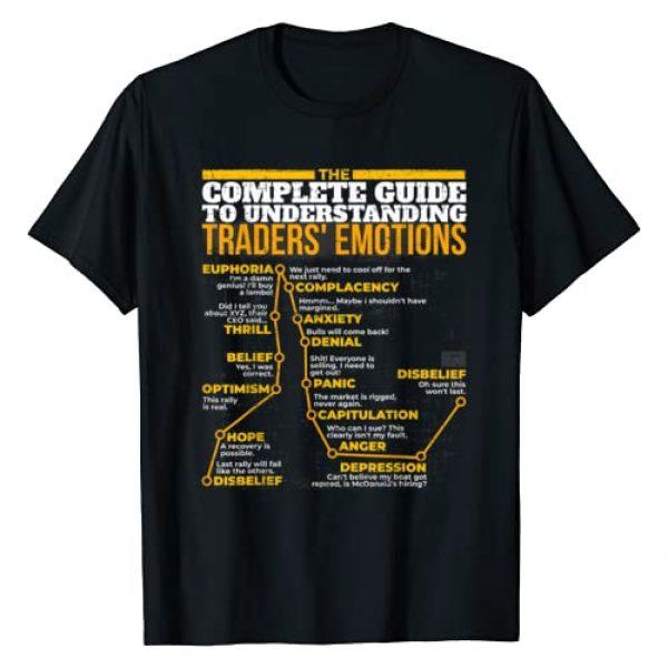 COMPLETE GUIDE UNDERSTANDING TRADER EMOTION STOCKS Graphic Tshirt 1 GUIDE UNDERSTANDING TRADERS' EMOTIONS STOCK MARKET T-SHIRT