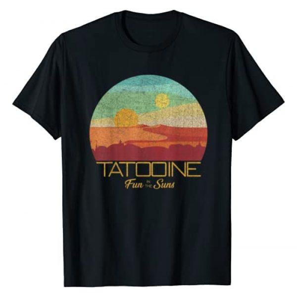 STAR WARS Graphic Tshirt 1 Tatooine Postcard T-Shirt