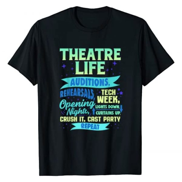 Creative Drama Theatre Tees Graphic Tshirt 1 Theatre Nerd Actor Gift Shirt Funny Musical Theater Thespian T-Shirt