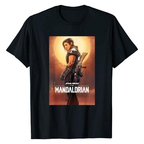 Star Wars Graphic Tshirt 1 The Mandalorian Cara Dune Character Poster T-Shirt