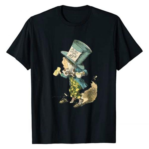 Vintage Images Graphic Tshirt 1 Alice in Wonderland Mad Hatter Vintage Illustration T-Shirt
