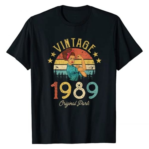 Vintage 1989 Classic Things Graphic Tshirt 1 Vintage 1989 Made in 1989 30th birthday 30 years old Gift T-Shirt