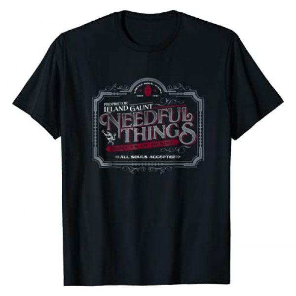 Nemons Graphic Tshirt 1 Gothic Horror Graphic Logo | Needful Things Devil T-shirt