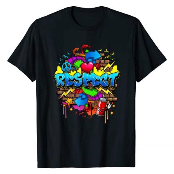 Flite Boi Graphic Tshirt 1 Urban - Respect Graffiti Graphic T-Shirt