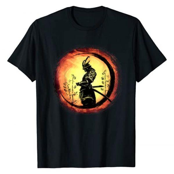 Japanese Martial Arts Fan Japan Culture TShirt Graphic Tshirt 1 Samurai Bushido Tee Japan Warrior Japanese Retro Art Print T-Shirt