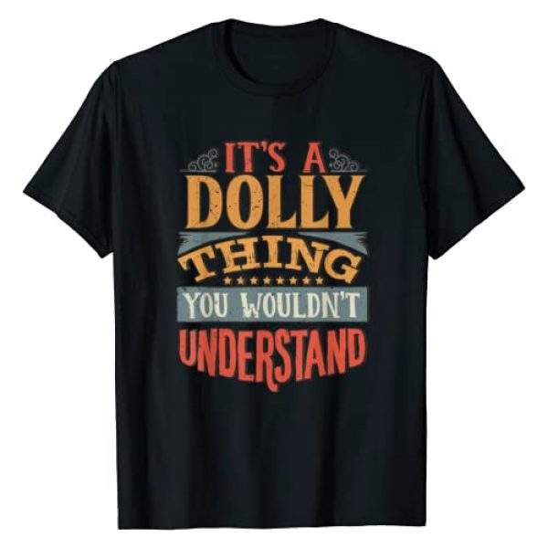 Funny Name Gifts By Maria Graphic Tshirt 1 Dolly Name T-Shirt