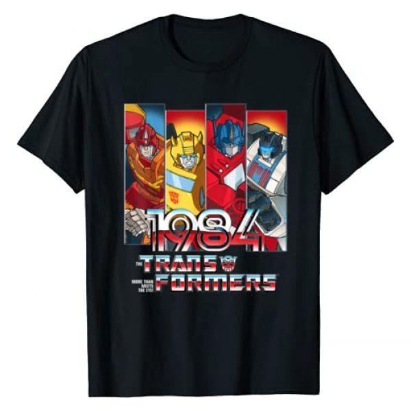 Transformers Graphic Tshirt 1 1984 Autobots Panels T-Shirt