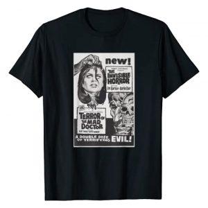 Halloween Vintage Horror Movie Poster Shirt Shop Graphic Tshirt 1 Horror Terror Classic Halloween Monster Poster Horror Movie T-Shirt