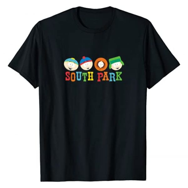 South Park Graphic Tshirt 1 Heads T-Shirt