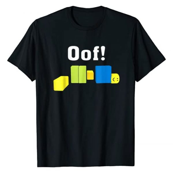 OOF! Funny Blox Noob Gamer Gifts For Gamers Graphic Tshirt 1 T Shirt T-Shirt