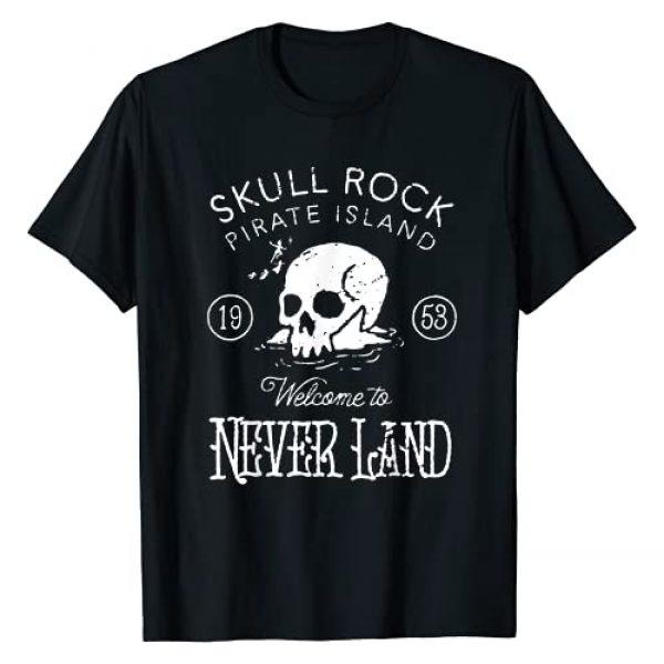 Disney Graphic Tshirt 1 Peter Pan Skull Rock Vintage Graphic T-Shirt T-Shirt