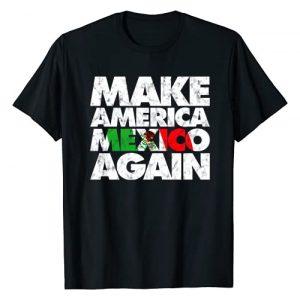 Cinco De Mayo T-shirts by MAD LABS Graphic Tshirt 1 Make America Mexico Again Shirt, Mexican Pride T-shirt MAMA