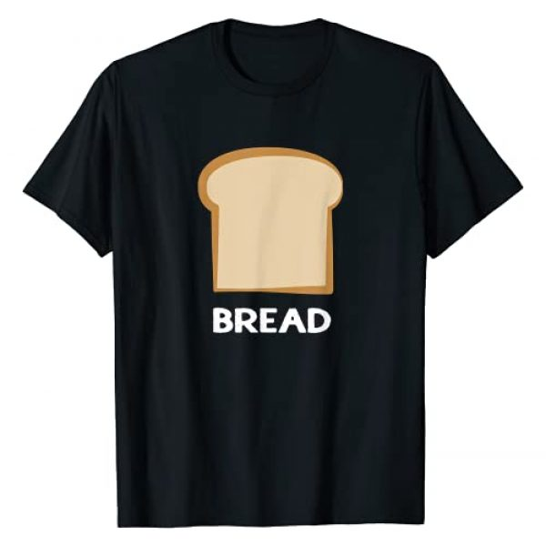 Bread T Shirts DLKL Graphic Tshirt 1 Bread Design Slice of Bread T-Shirt