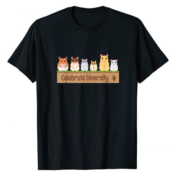 Gifts for Hamster Lovers Graphic Tshirt 1 Cute Celebrate Diversity Pet Owners Gift for Hamster Lovers T-Shirt