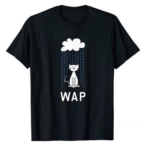 #WAP Wet Cat In Rain Graphic Tshirt 1 Wet Pussy Cat In Rain #WAP Hot Funny Design T-Shirt