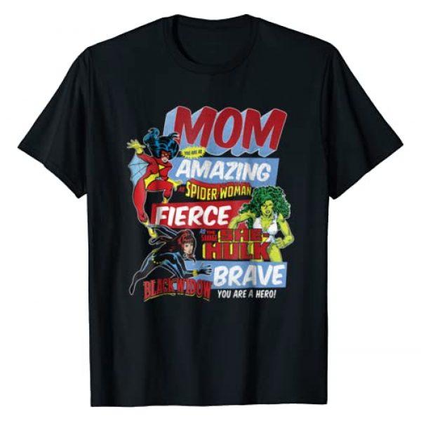 Marvel Graphic Tshirt 1 Vintage Retro Amazing Mom Graphic T-Shirt