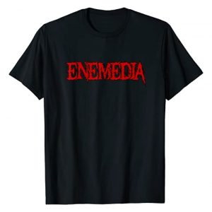 Enemedia Graphic Tshirt 1 Red Logo Design 2021 T-Shirt