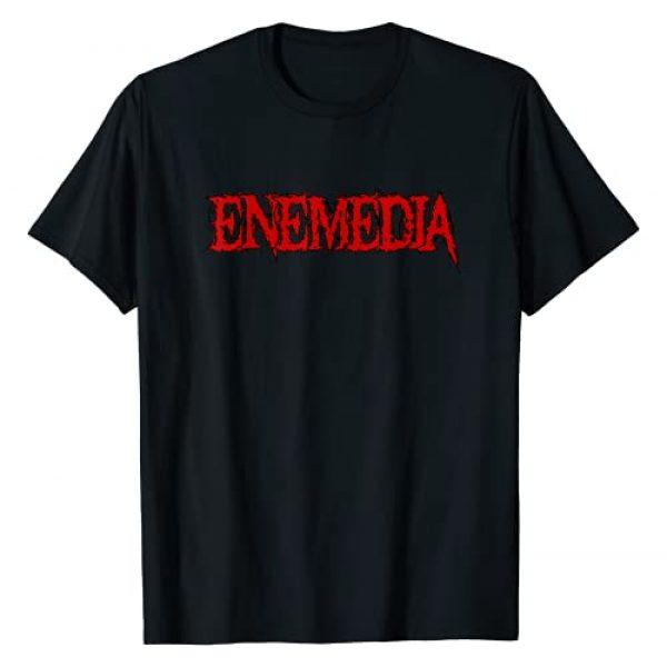Enemedia Graphic Tshirt 1 Red Logo Design 2021 T-Shirt