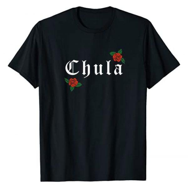 Camisas Latinas Apparel Co Graphic Tshirt 1 Chula Latina Roses T-Shirt